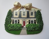 Custom Listing for MichelleRWilson - one Custom House Ornament- a cherished keepsake of your home