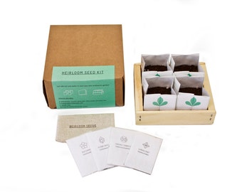 Basic Heirloom Seed Kit with Soil