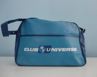 VINTAGE 1960s club universe - unitours MESSENGER BAG
