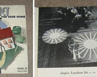 Crochet Magazines - 1930s, 1940s, and 1950s (Vintage)