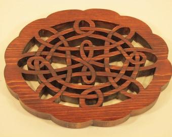Trivet Celtic Design Handmade