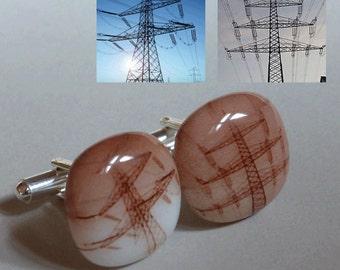 Custom cufflinks from your photos