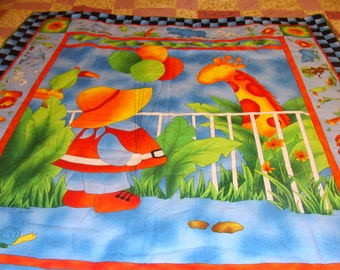 Baby Quilt~~~ Zoo Visit