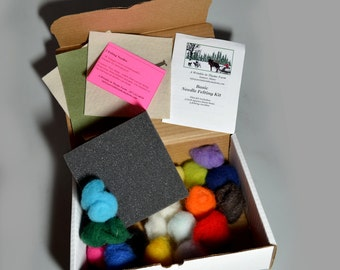S04 Starter Needle Felting Kit