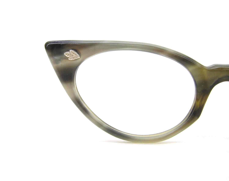 Unique Cat Eye Glasses Frame Vintage : Vintage Green Cat eye Glasses Eyeglasses or Sunglasses ...