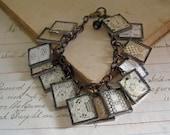 Antique Lace Bracelet Lace Charm Jewelry
