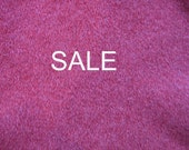 SALE - Supply - Felted Wool Sweater - Dark Pink 2 - Recycled Fabric Material