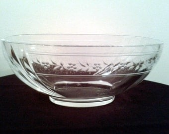 Thomas Goode Oval Crystal Glass Centrepiece Vase