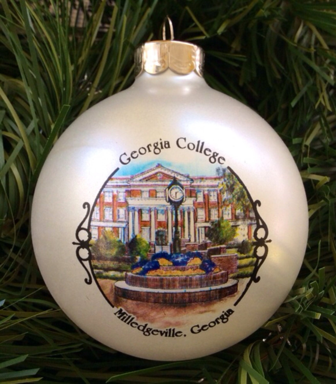 University of michigan christmas ornaments - Georgia College And State University Ornament
