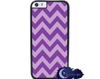 Grape Soda Chevron, Purple - iPhone Cover, Case