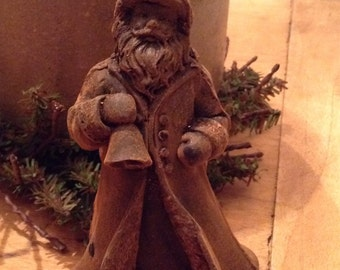 Blackened Beeswax Saint Nicholas  #412