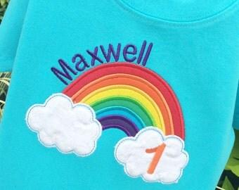 Boys Rainbow Shirt