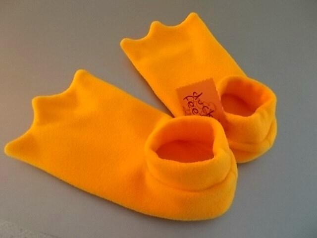 Orange Duck Shoes Kids
