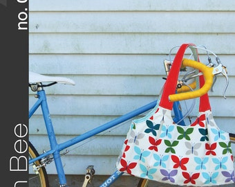 The Scoop Tote Sewing Pattern by Green Bee