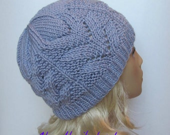 "Knitting Pattern #171 Hat ""Polina"" for a Lady"