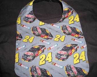 Jeff Gordon 24 baby bib