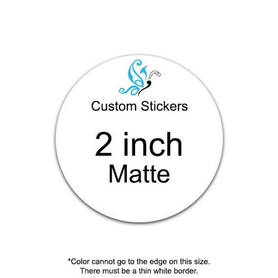 100 2 Inch Custom Stickers Personalized Labels Product Label Party Favors Decoration Name | Custom Sticker Labels | Party Supplies and Decor