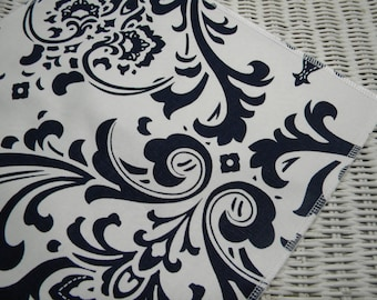 Free USA Shipping/Navy Damask Table Runner/Holiday Table Runner/Party Decor  Table