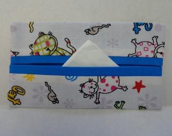 Designer Cats Tissue Cozy/Gift Card Holder/Party Favor/Wedding Favor