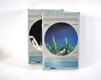Grow Crystals Lot of 2 Kits Vintage 80s Awesome