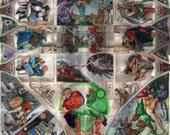 DC Comics Sistine Chapel ...