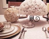 Modern Wedding Rose Centerpiece Flower Arrangement