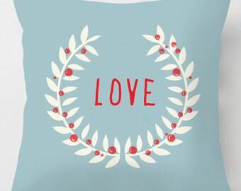 LOVE valentine cushion / pillow