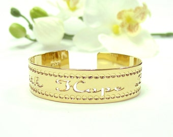 Faith love hope, Affirmation jewelry, dainty gold cuff bracelet, thin gold bracelet cuff gold jewelry, inspiration, love cuff, faith jewelry
