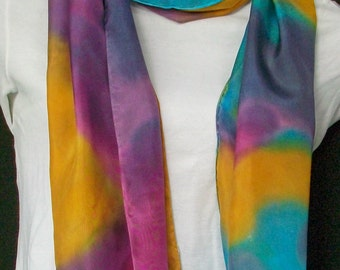 Jewel Tones Infinity scarf