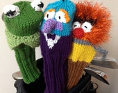 Animal Muppet Knit Golf Club Cover