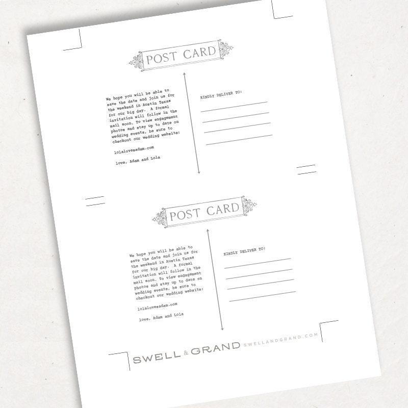 postcard template for mac