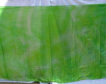 Silk Veil Lime Green Yellow BlueMoonstone Bellydance