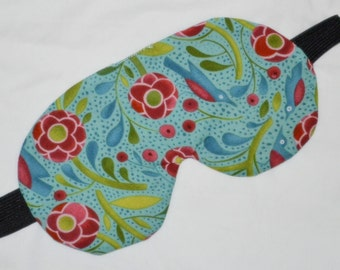 BIRDS & BERRIES Five Layer LUXURY Cotton Sleep Eye Mask