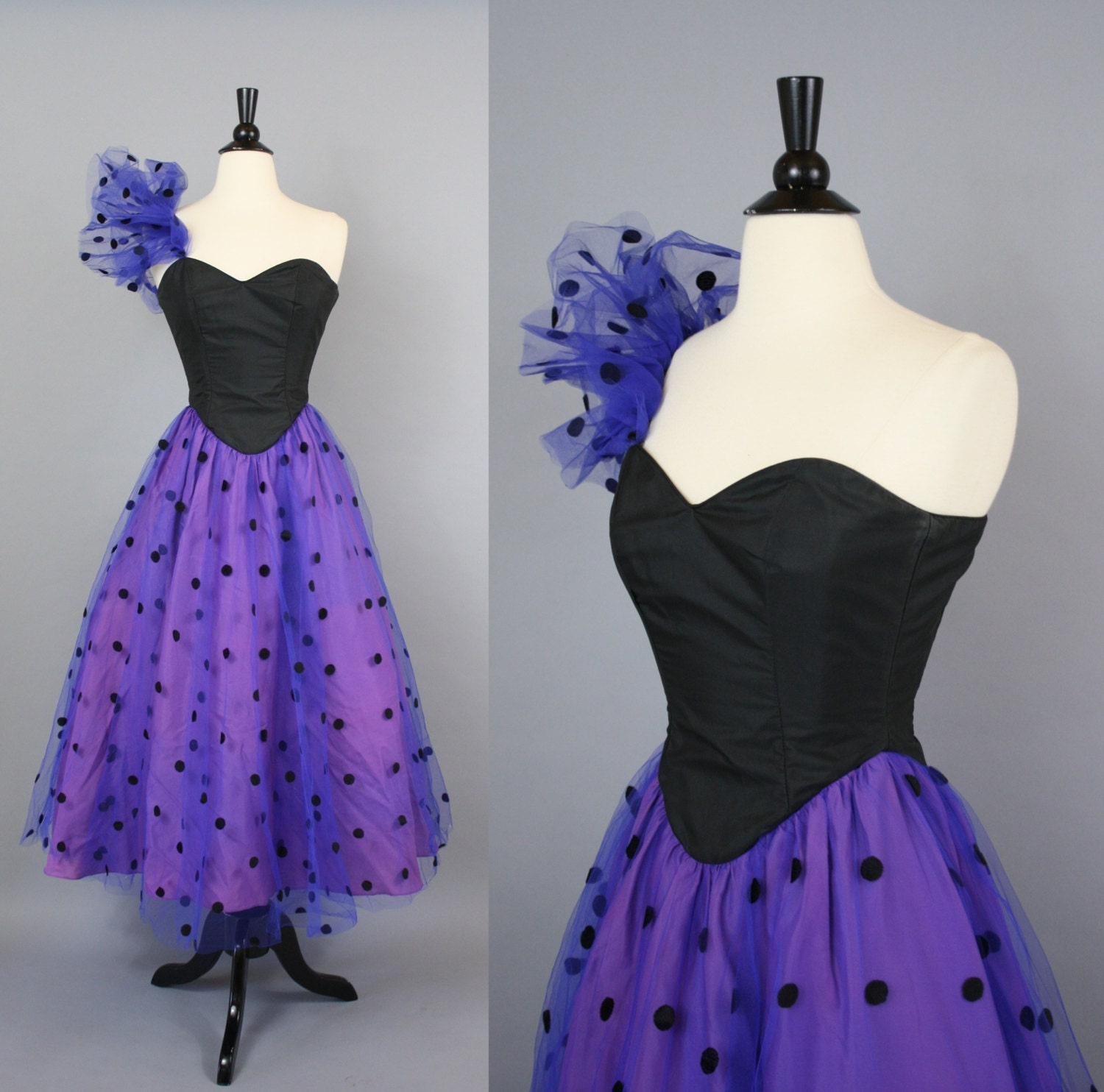 Polka Dotted Prom Dresses 41