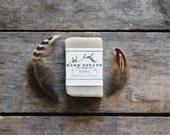 Shaving Soap // small bar // handmade soap // cold process soap // organic // all natural soap // lightly scented // vegan natural artisan