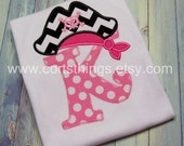 Personalized Pirate Initial Shirt