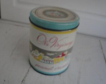 Vintage Tin Ole Virginny Peanut Crunch