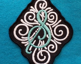 Custom Embrodiered Monogram Initial Patch