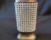 Vintage Rhinestone Lighter, Marhill, New York, Cigarette
