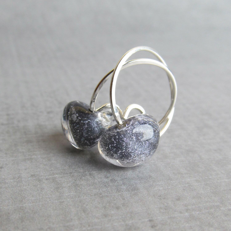 black hoop earrings small silver hoop earrings black. Black Bedroom Furniture Sets. Home Design Ideas
