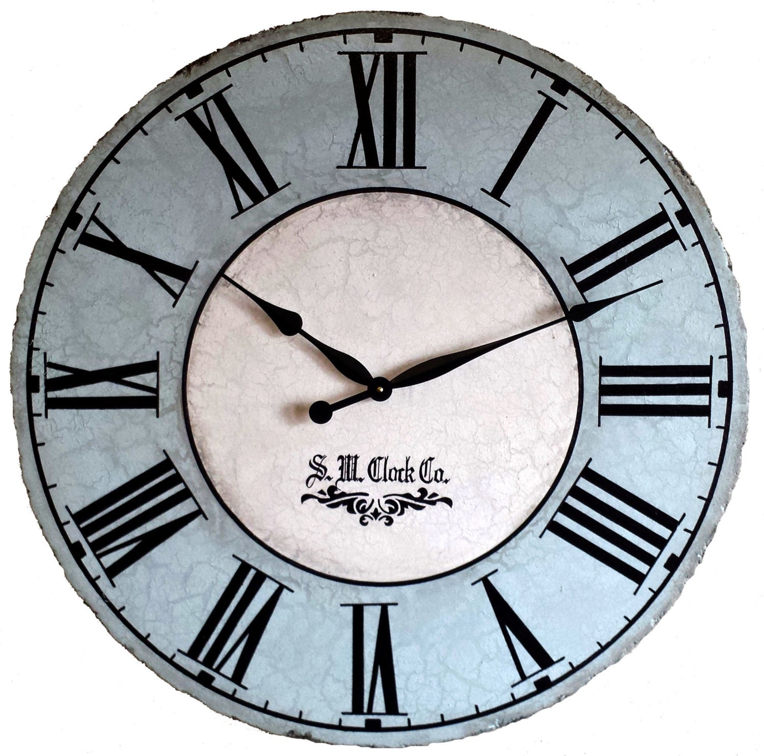 24 Inch North Haven Large Antique Style Wall Clock