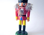 Nutcracker Wood Doll Erzgebirge Christmas Decoration Toy Soldier Vintage Collectible
