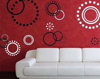 Wall Decals - Circles Wall Decal