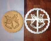 Bells Cookie Cutter -3D Printed Unique Christmas Cookie Cutter