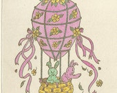 Flying Easter Balloon