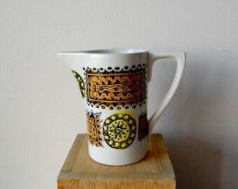 Vintage Portmeirion Pottery Mid Century Ceramic Creamer Talisman Design MidCentury Modern.