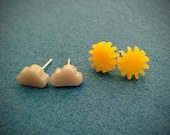 Sun and Rain Earrings - The Weather Collection