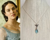 Downton Abbey Bumble Bee Necklace- n607