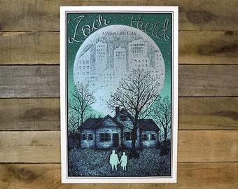 SALE Zach Hurd Screen Printed Poster