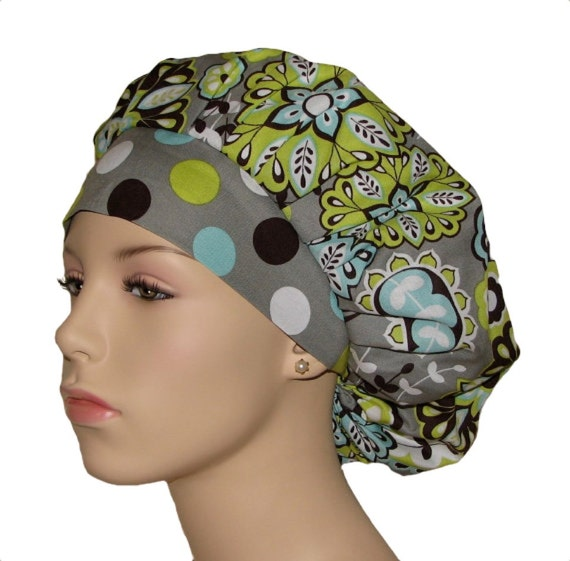 how to make surgical scrub hats
